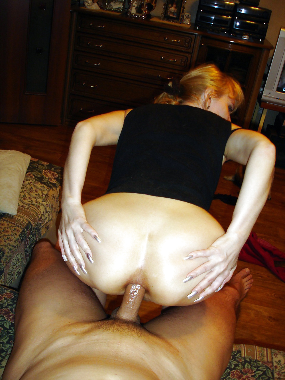Домашний Мама Секс Анал