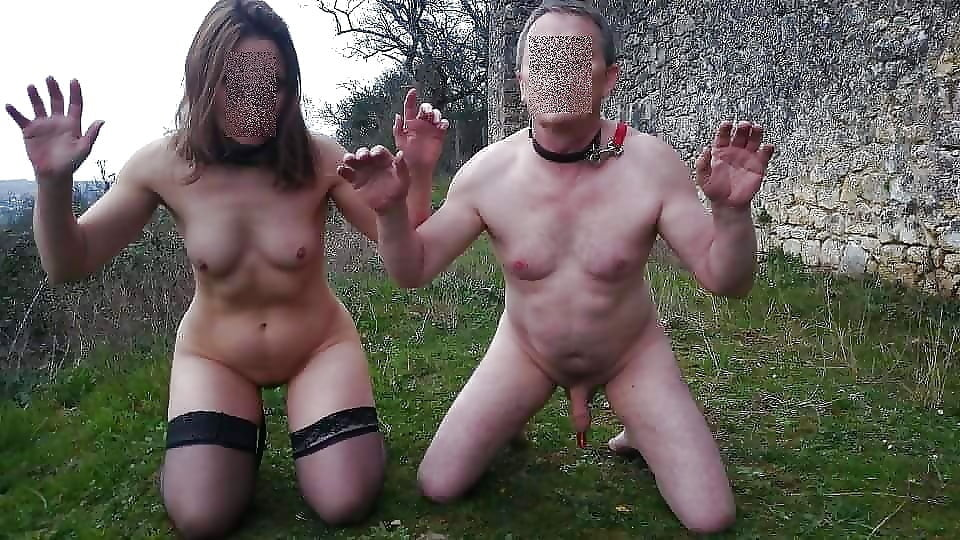 Порно Пара Нижних Рабов