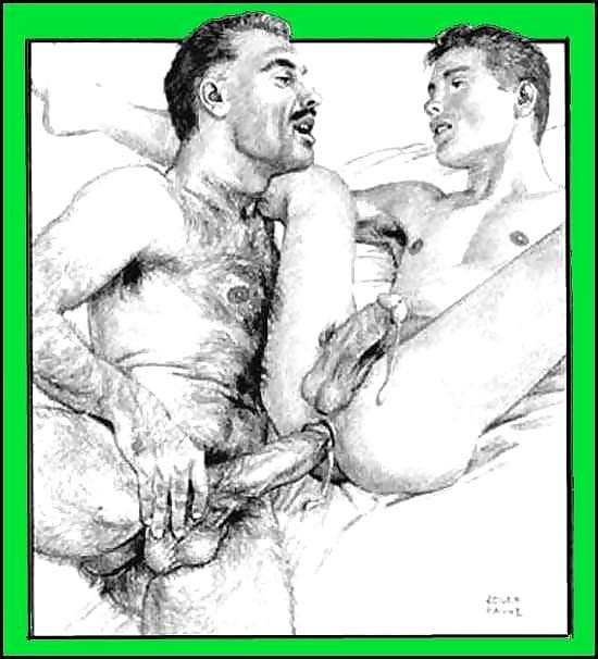 Порно Рисунки Геи