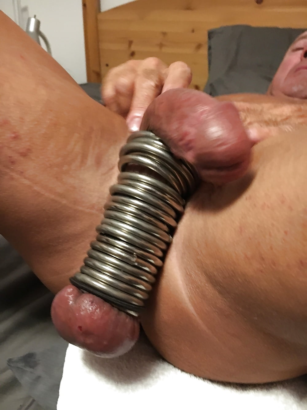 Cock and ball stretching