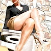 Milfs and Matures in Anklet Ankle Chain and High Heels