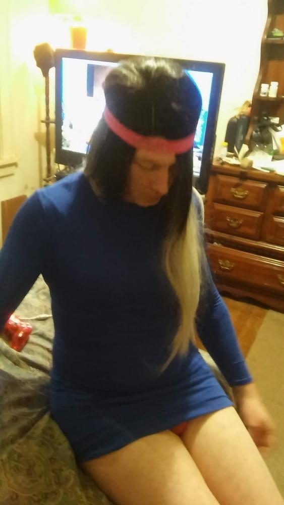 My Blue Dress - 8 Pics