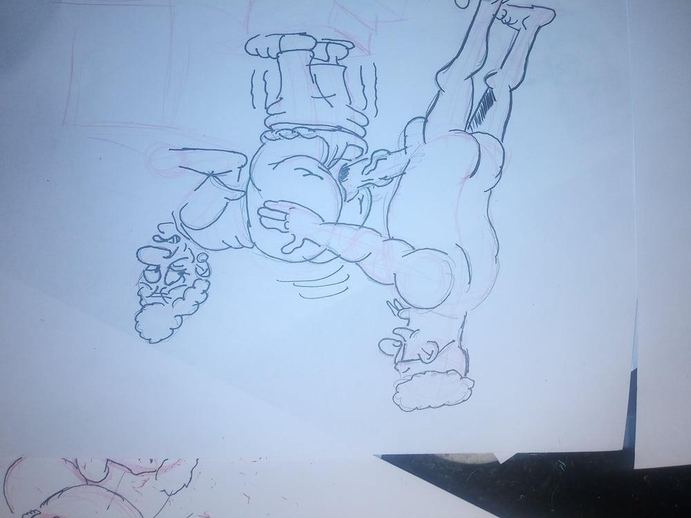 Grannu doodles - 5 Pics
