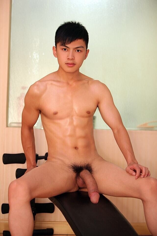 Underwear guy asian nude