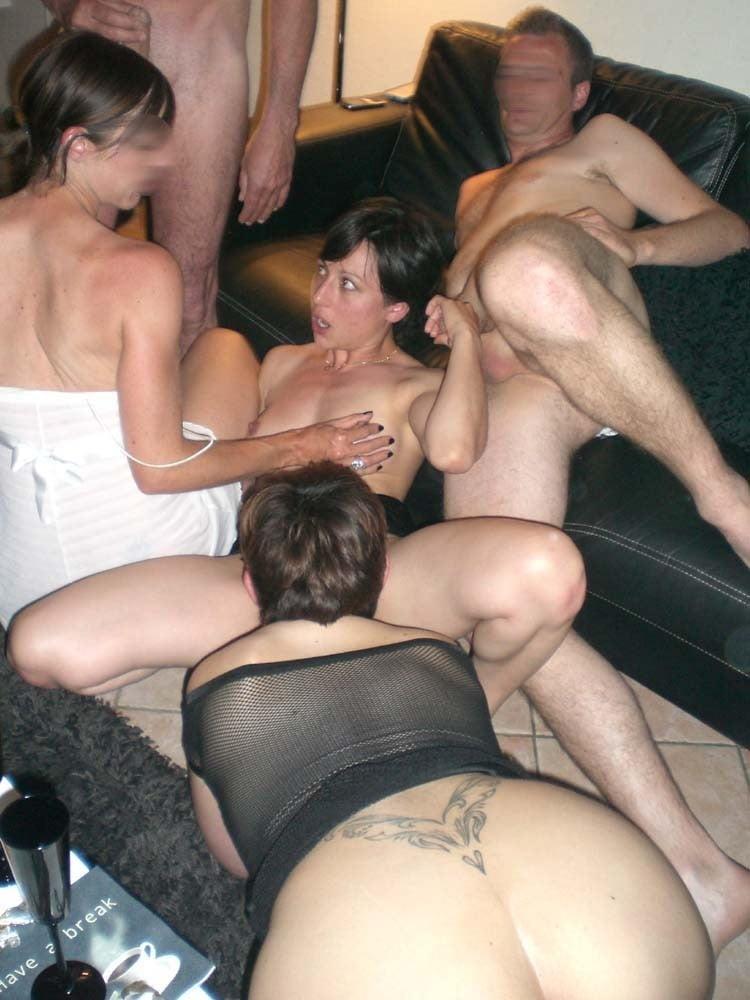 Hot bisexual swingers fuck fest