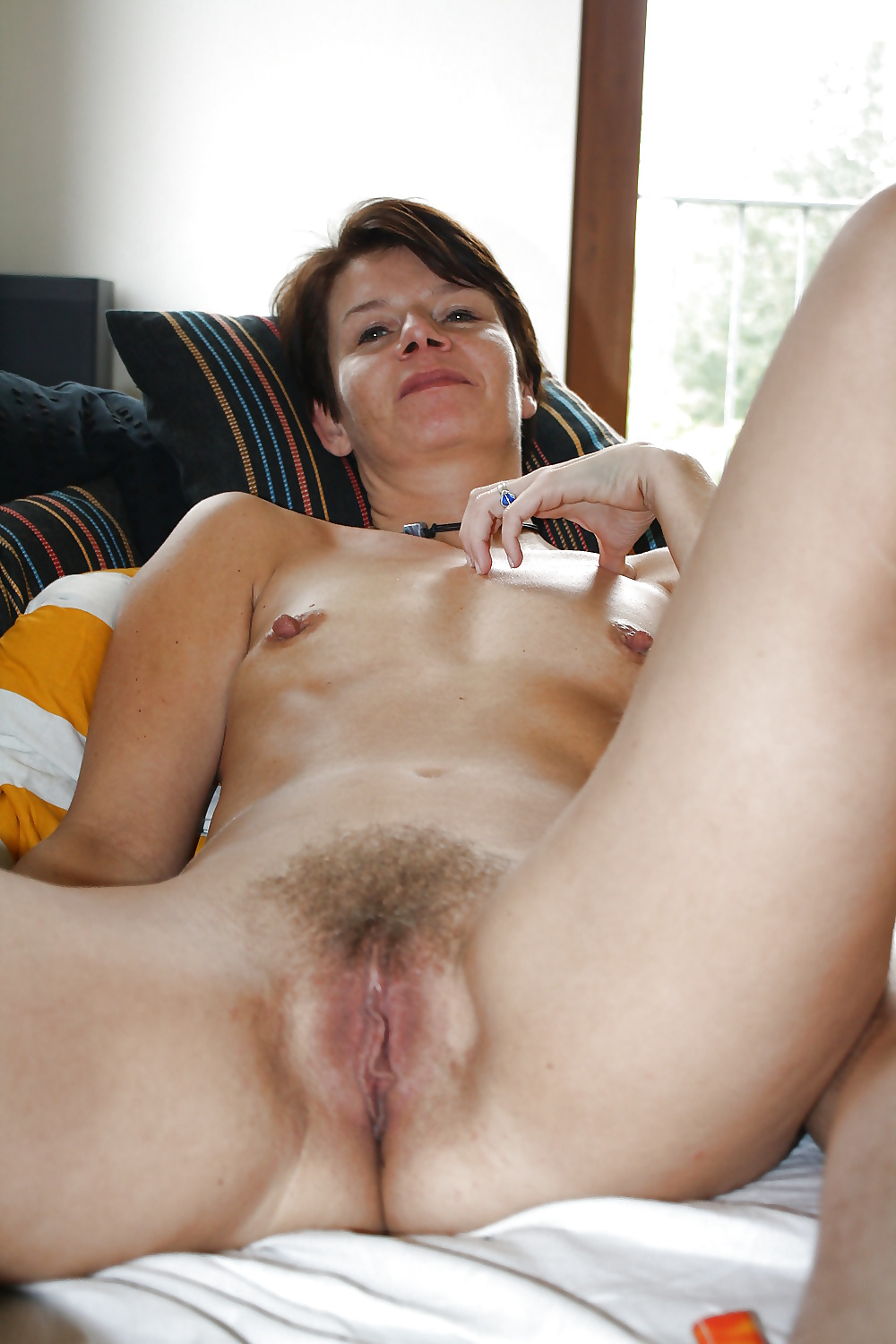 Hairy mature nude selfies — pic 12