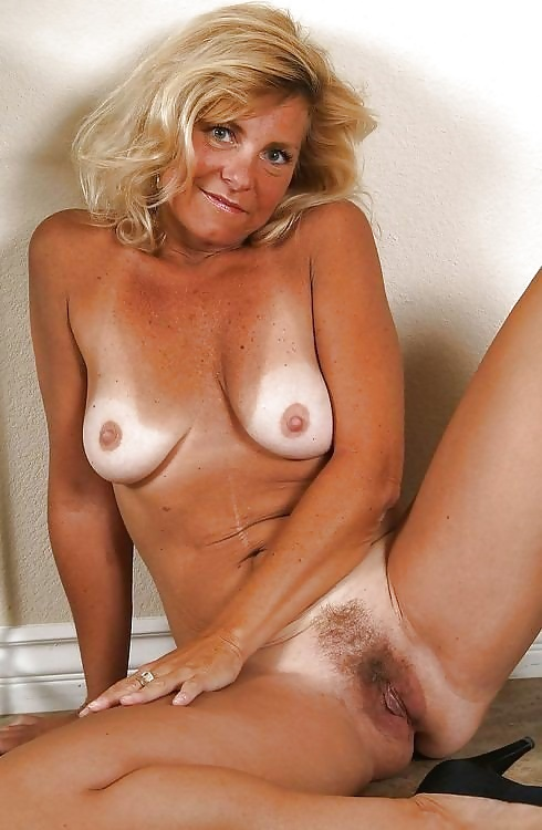 Blonde Mature Tan Line Sex