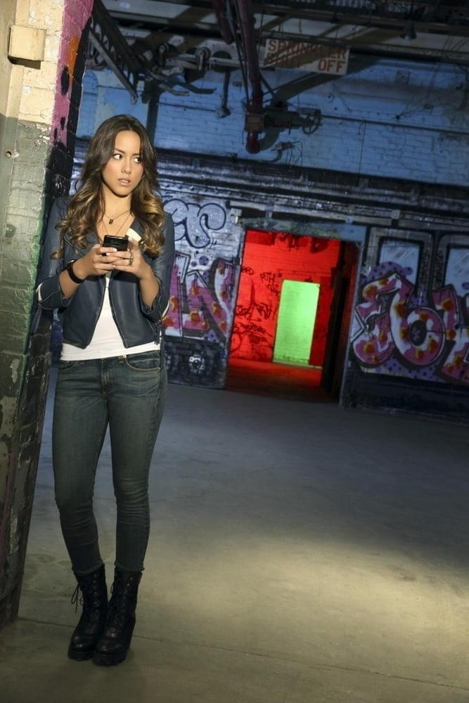 Chloe Bennet Stroke Material - 75 Pics