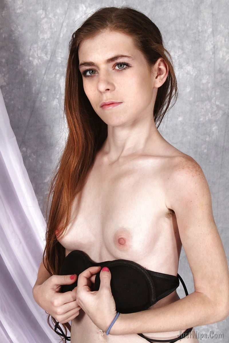 Skinny small breasted women