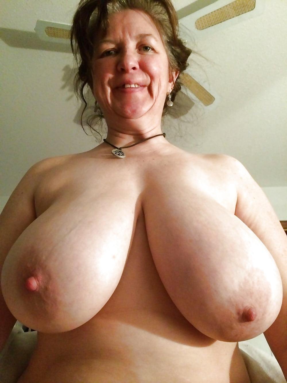 Granny huge boobs