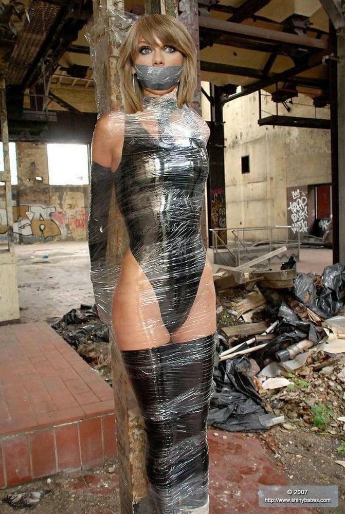 My first duct tape mummification