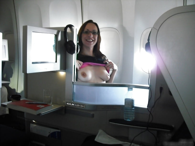 big-tits-on-a-plane