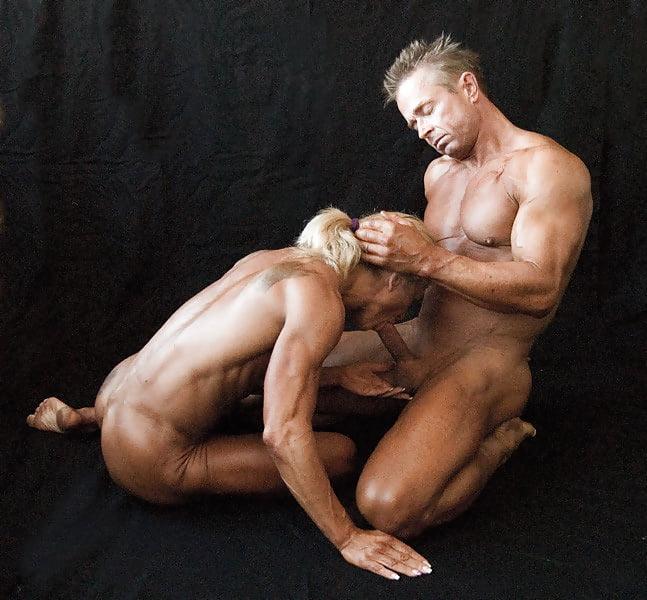 Порно баба качок и мужик — pic 4