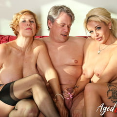 Marc Kaye With Two Horny Matures