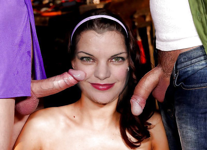 Pauley perrette abby showing