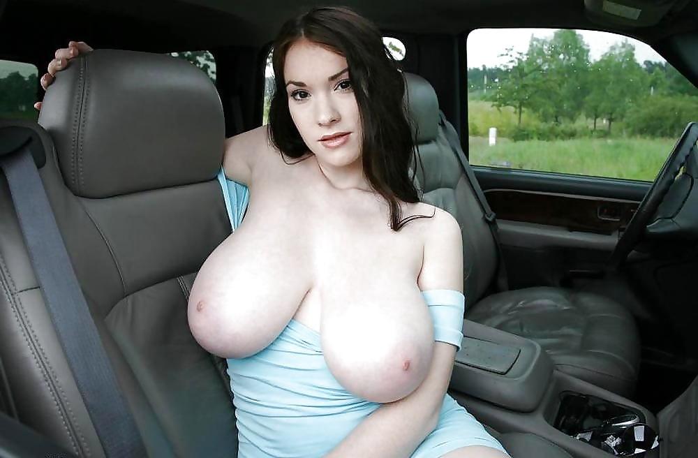 авто и большие сиськи фото