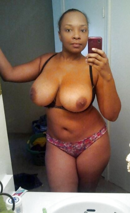 black girl self shot big tits