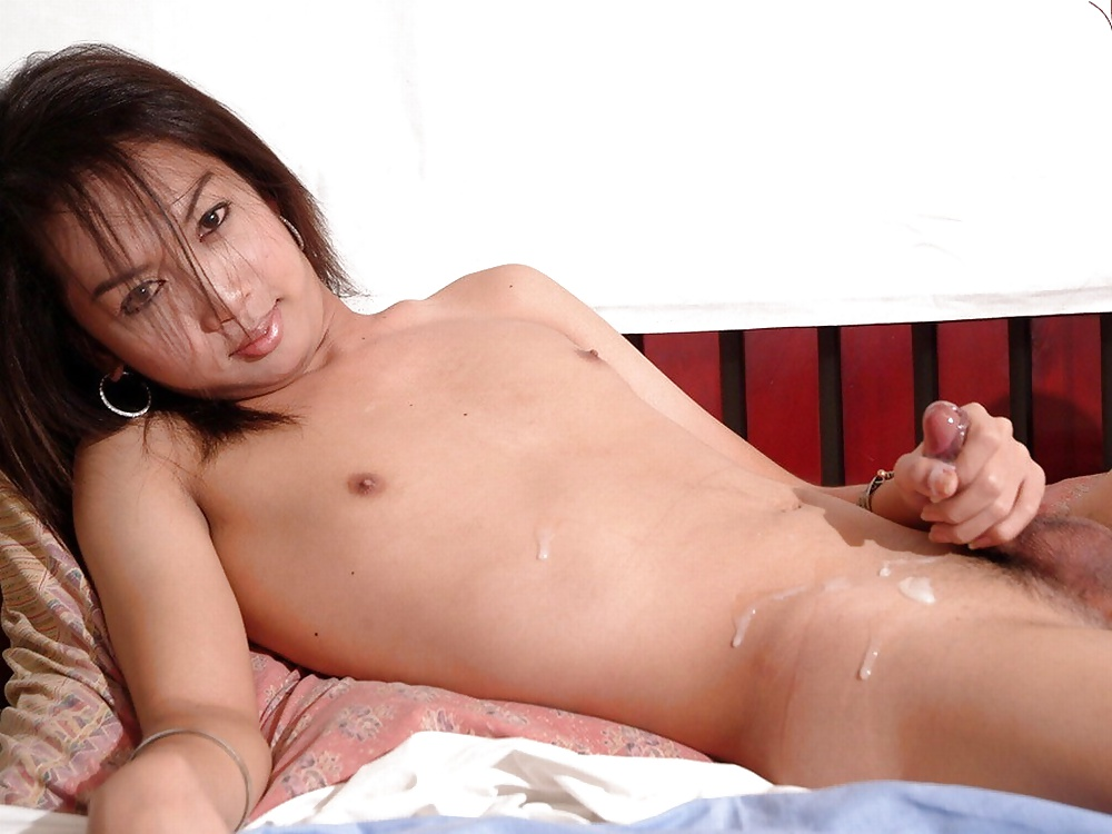 Monster Cock Asian Shemale