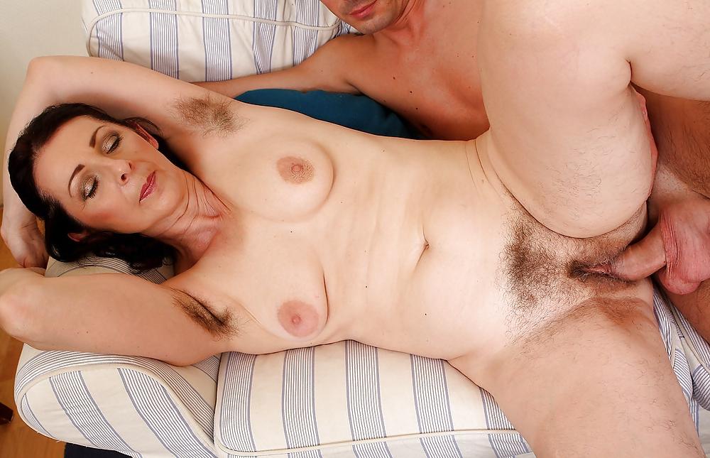 Horny mature helen volga shucks her lace panties to exhibit her hairy pussy