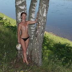 Among Three Birches