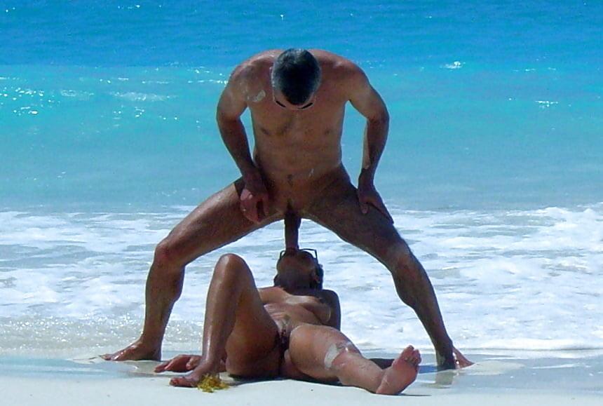 On beach porn Free Public