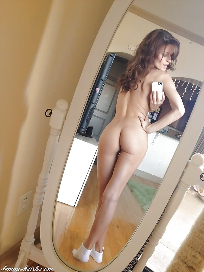 Nude nude babe mirror hot ass fucking