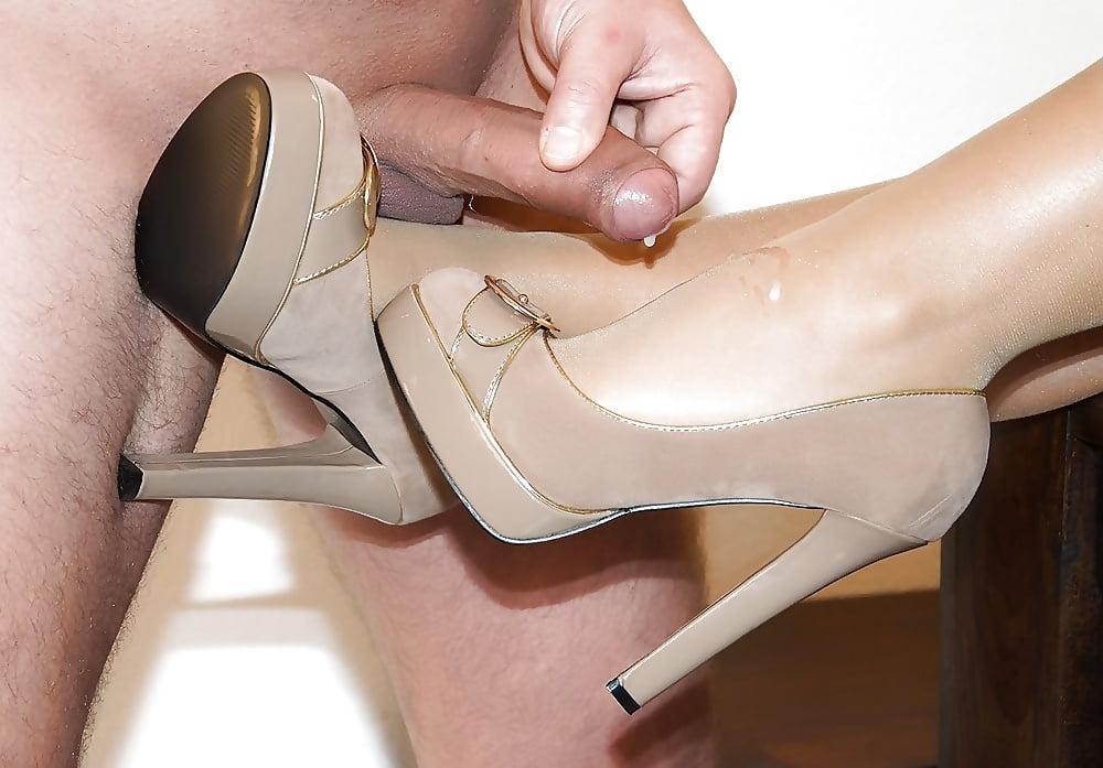 In high heels