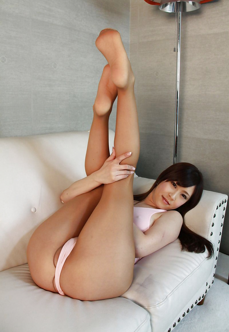 Japanese models nylons nude — pic 5