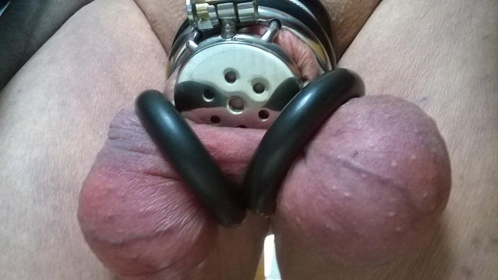 Chastity spread balls 1 - 79 Pics