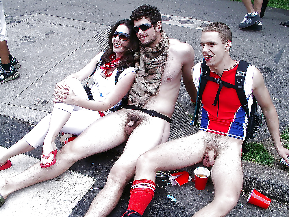Rugby Players Flashing Their Dicks
