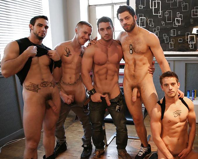 Sexy European Men Nude