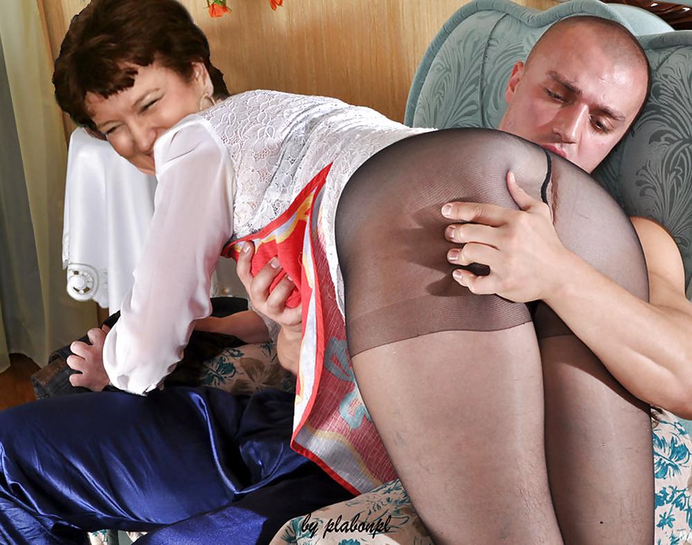 Секс старик прислугой большие