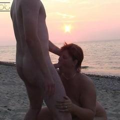 Public On The Beach