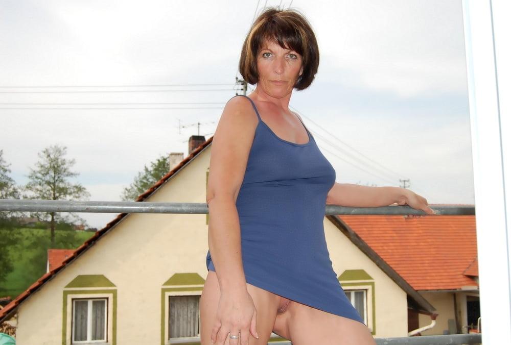 Wife flashing neighbors — 8