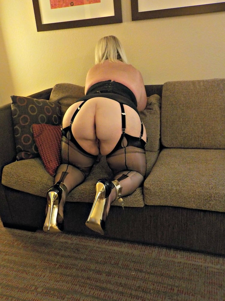 Bbw seamed stockings