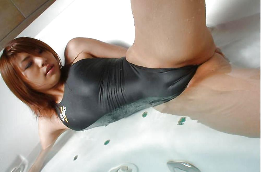 Black porn swimsuits — pic 1