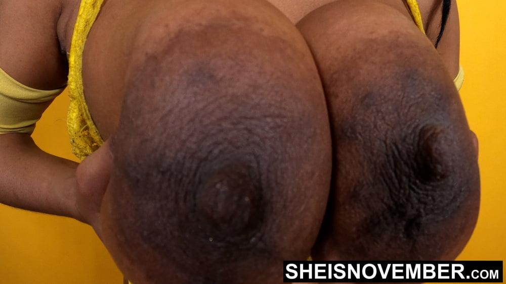 HD Massive Ebony Nipples & Areolas BigTits Mix By Msnovember - 14 Pics