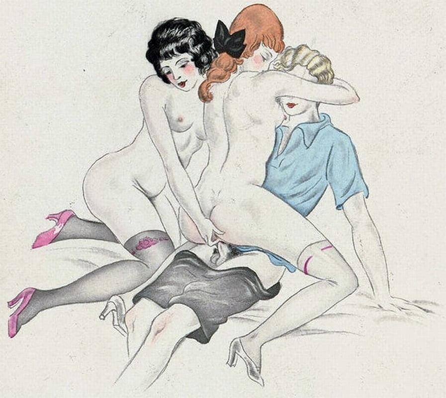 French Cartoon Comic Porn