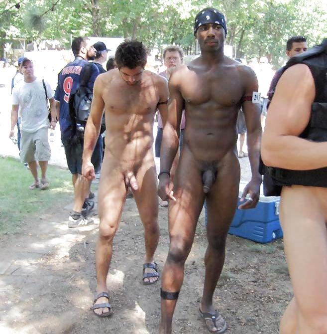 Naked Men Erection Nude Beach