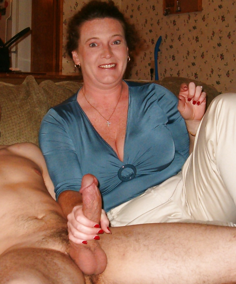 Mom asks if she can touch my cock free pics