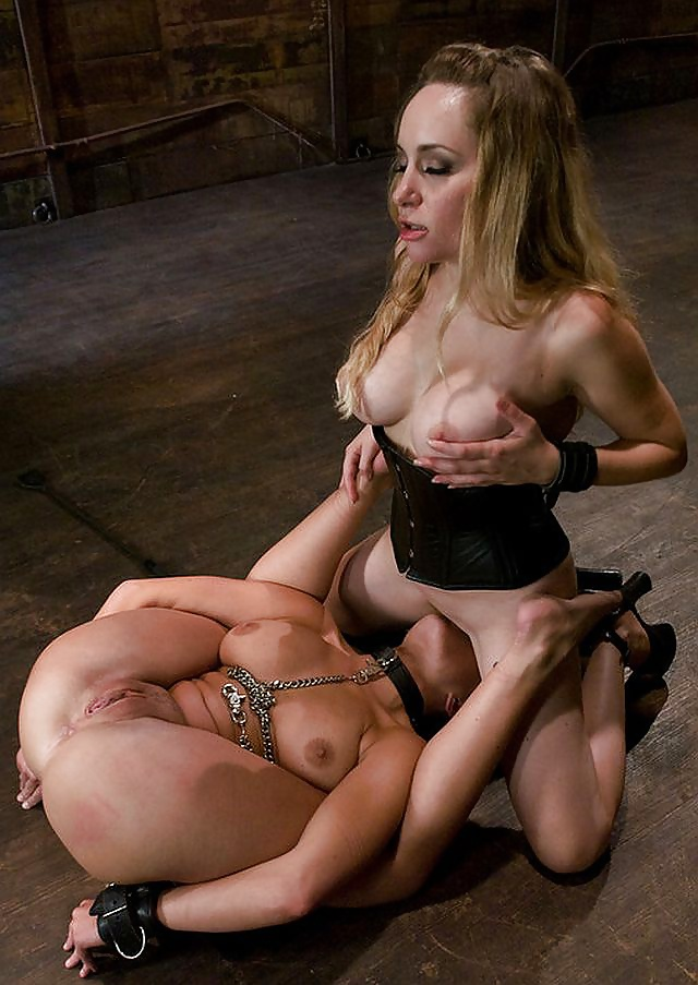 Sensual lesbians with huge jugs have a hot night