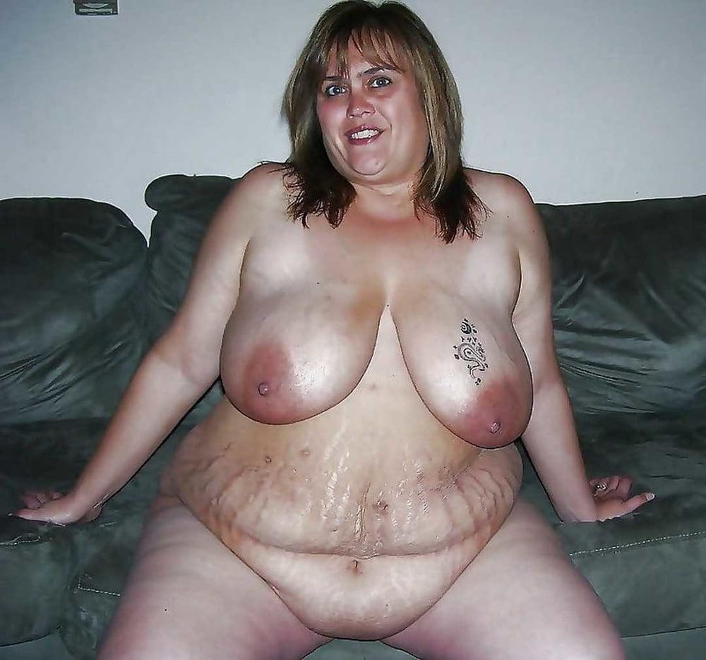 Bbw Saggy Belly Fat