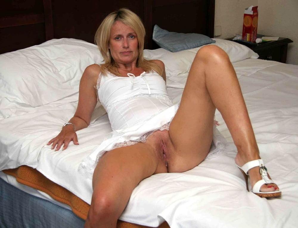 Legs spread with panties