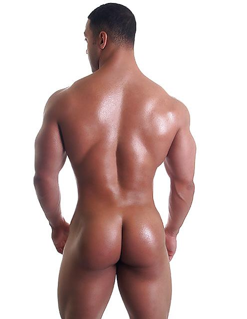 Butt naked gay men