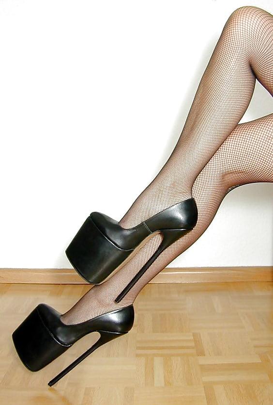 Girl virgin fetish heel platform