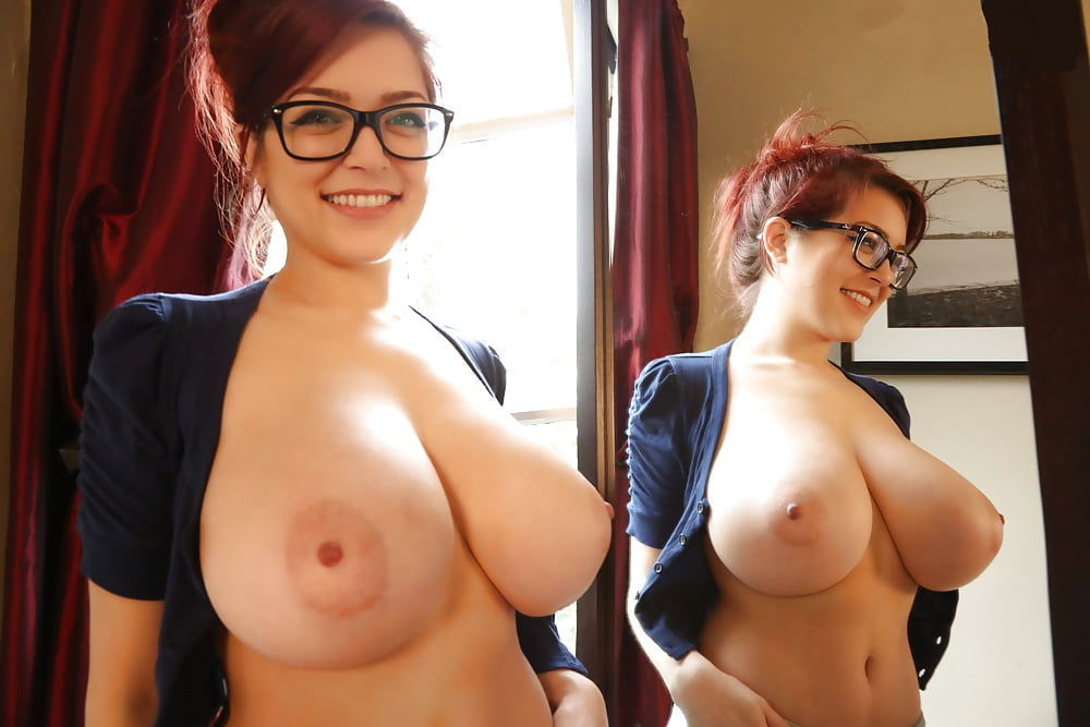 Big tit women with glasses naked