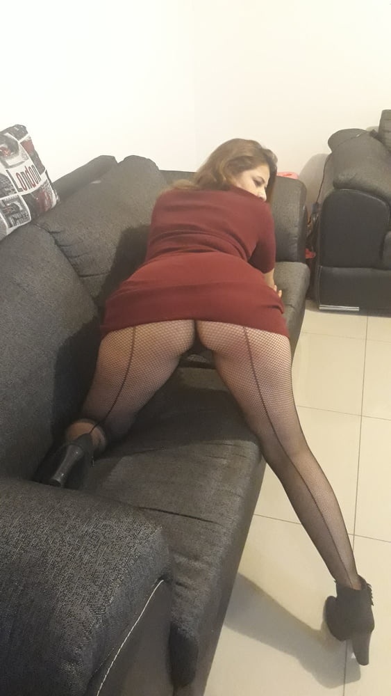 mini dress with stockings without panties - 17 Pics