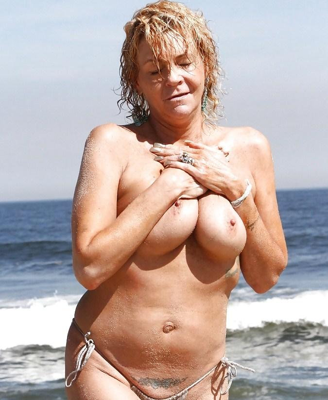 Mom In Bikini