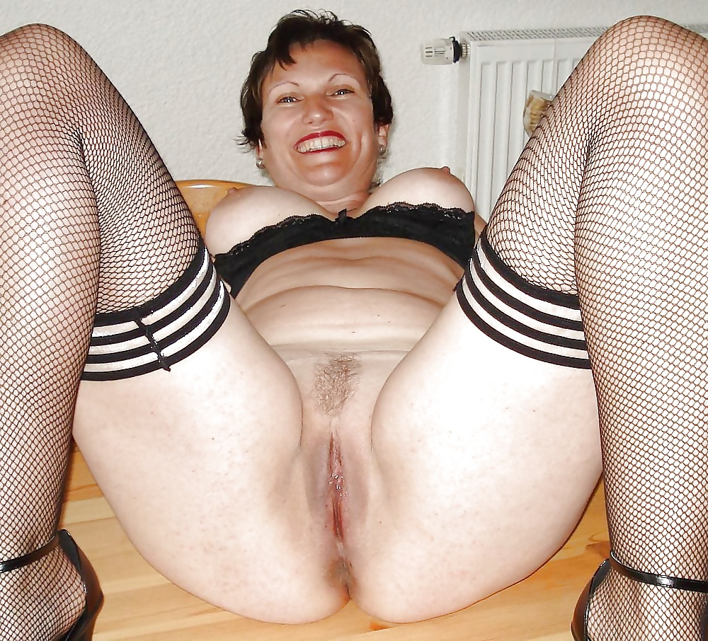 amateur Very grannies spread wide old