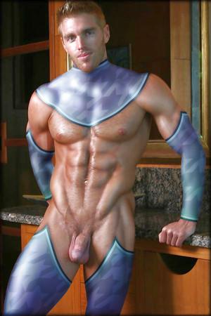 Nude hero